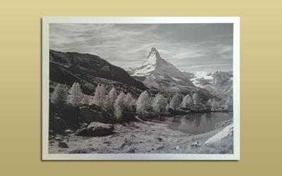 アルミ サテン メタルフォト 写真銘板