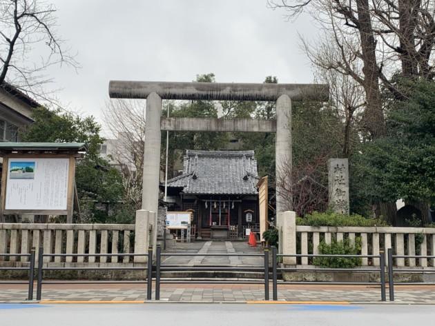 池袋御嶽神社様 納入レポート